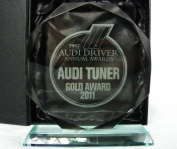 JBS wins Gold at Audi Driver International Tuner of the Year Awards 2011