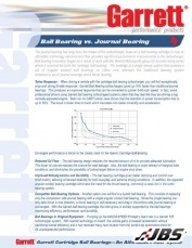Ball bearing vs Journal Bearing