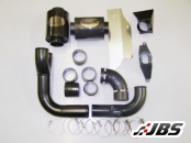 Forge Motorsport Twintake Induction Kit (For VW Golf MK5 GTI, Filter Originally In Engine Cover)